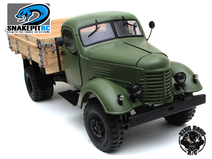 King Kong Rc 1 12 Ca10 Truck Kit With Wooden Bed