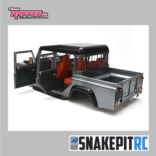 TRC Defender D110 Pickup Truck 1/10 Hard Body V2 (unpainted)
