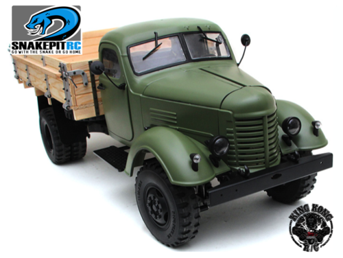King Kong RC 1/12 CA10 Truck Kit with wooden Bed