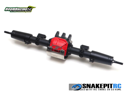 BR Complete Assembled AR44 PHAT™ Axle Rear for SCX10 II