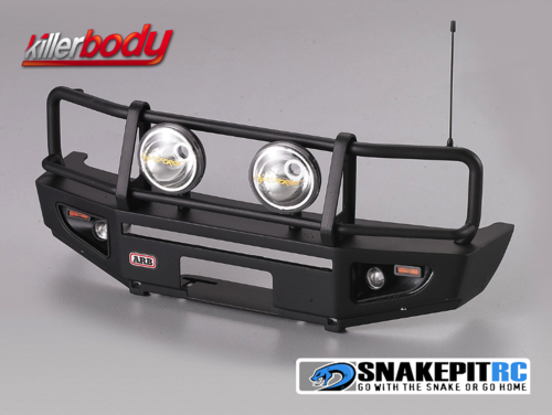 Killerbody ARB 1/10 Aluminum Bull Bar Bumper w/ LED Light Set