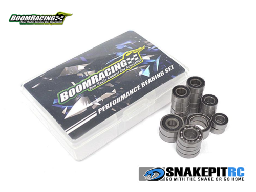 BR High Performance Ball Bearings Set Rubber Sealed for SCX10 II
