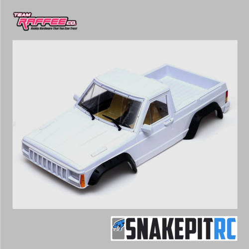 TRC Comanche 1/10 Pickup Truck Hard Plastic Body Kit Set 313mm