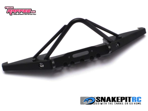 TRC XJ Steel Stinger Front Bumper w/ LED Set for Axial SCX10