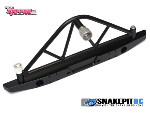 TRC Steel Rear Bumper and Spare Tire Mount for Axial SCX10 / II