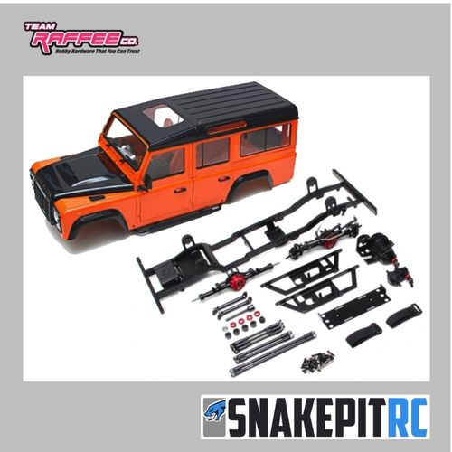 Team Raffee Co. D110 Chassis Kit mit TRC D110 Karosserie