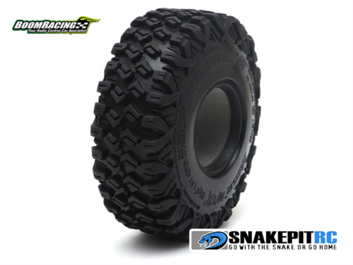 "BR HUSTLER M/T Xtreme 1.55"" MC1  Rock Crawling Tires 4.19x1.38"