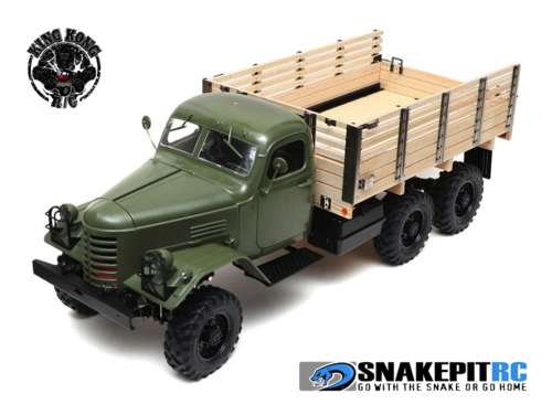 King Kong RC 1/12 CA30 6X6 Tractor Truck Kit