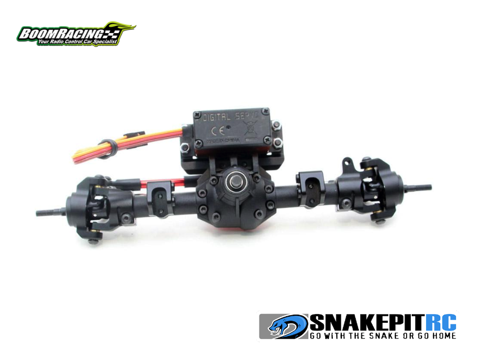 Boom Racing AR44 Axle Mounted Servo Conversion Kit