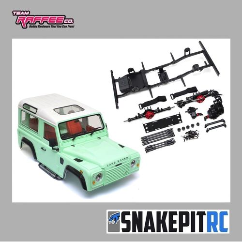 Team Raffee Co. D90 Chassis Kit mit TRC D90 Karosserie