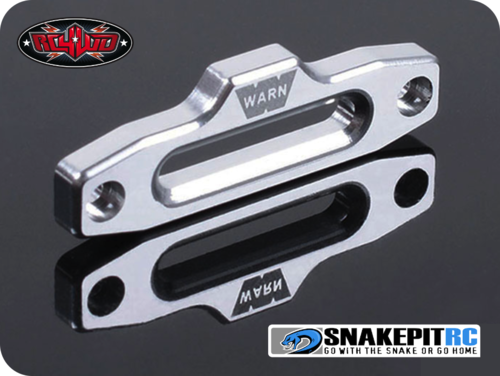 RC4WD 1/10 WARN HAWSE POLISHED ALUMINUM FAIRLEAD