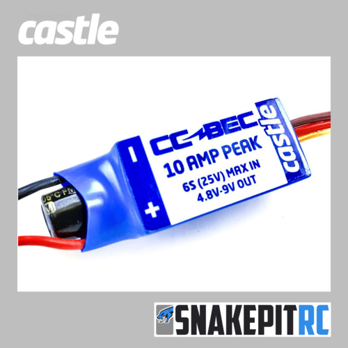 Castle - CC Bec 10A - max. Spannung 25V - 6S